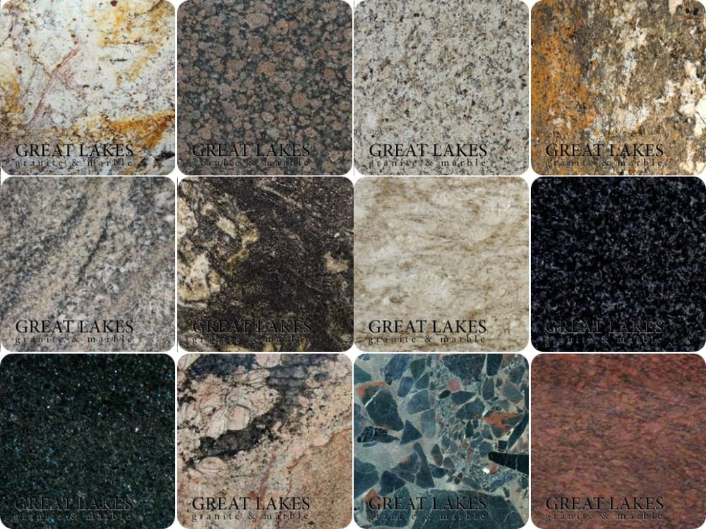 Great Lakes Granite Marble: Granite: A True Product Of Nature, 100% Natural And