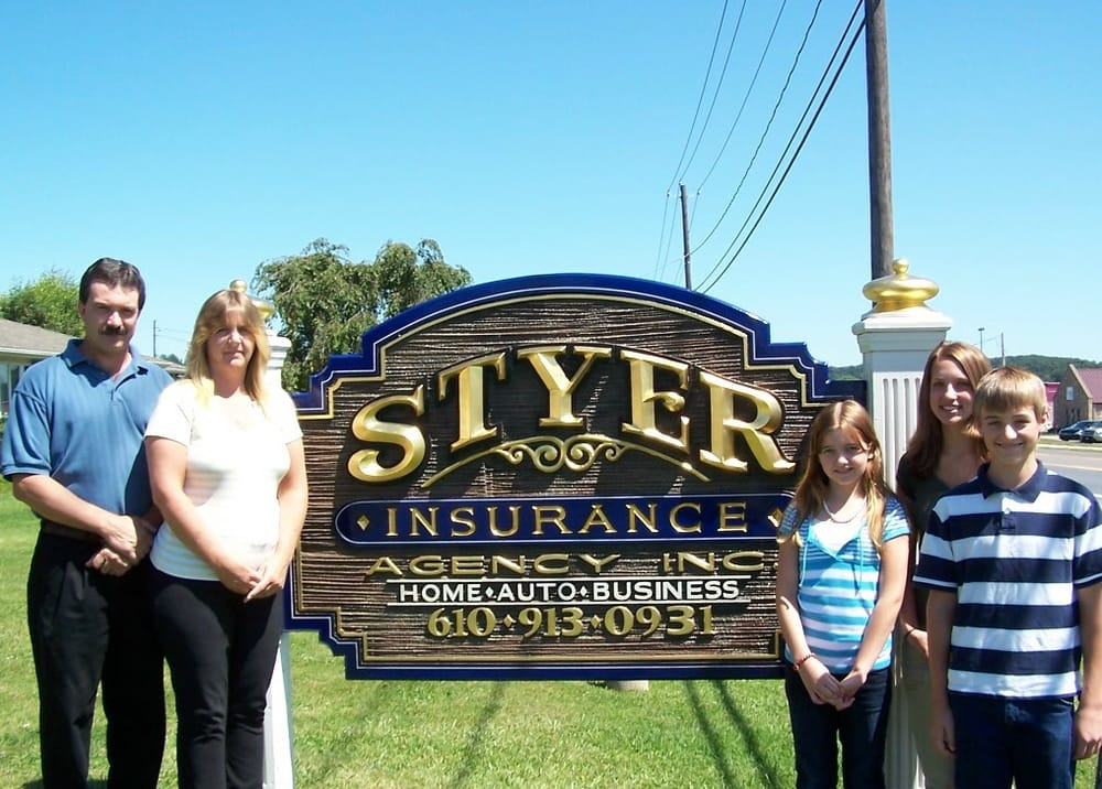 Styer Insurance Agency: 4005 Main St, Elverson, PA