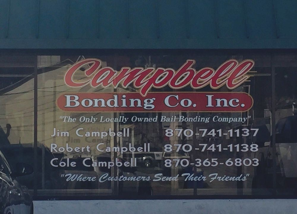 Campbell Bonding: 412 W Central Ave, Harrison, AR