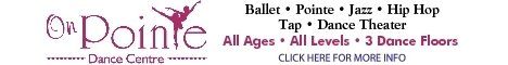 On Pointe Dance Centre: 1812 N 120th St, Omaha, NE