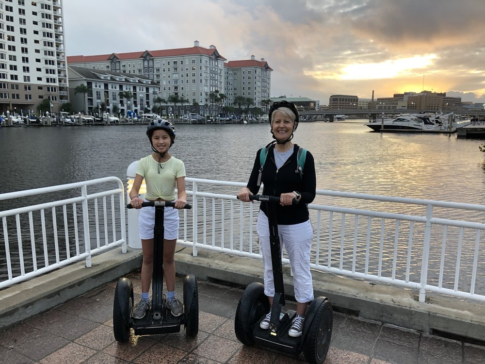 Magic Carpet Glide Segway Tours: 615 Channelside Dr, Tampa, FL