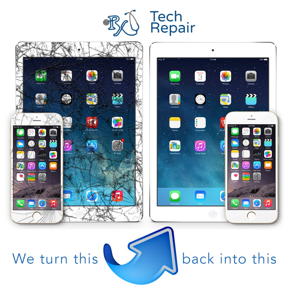 RxTech Repair Riparazione iPhone e iPad mobile