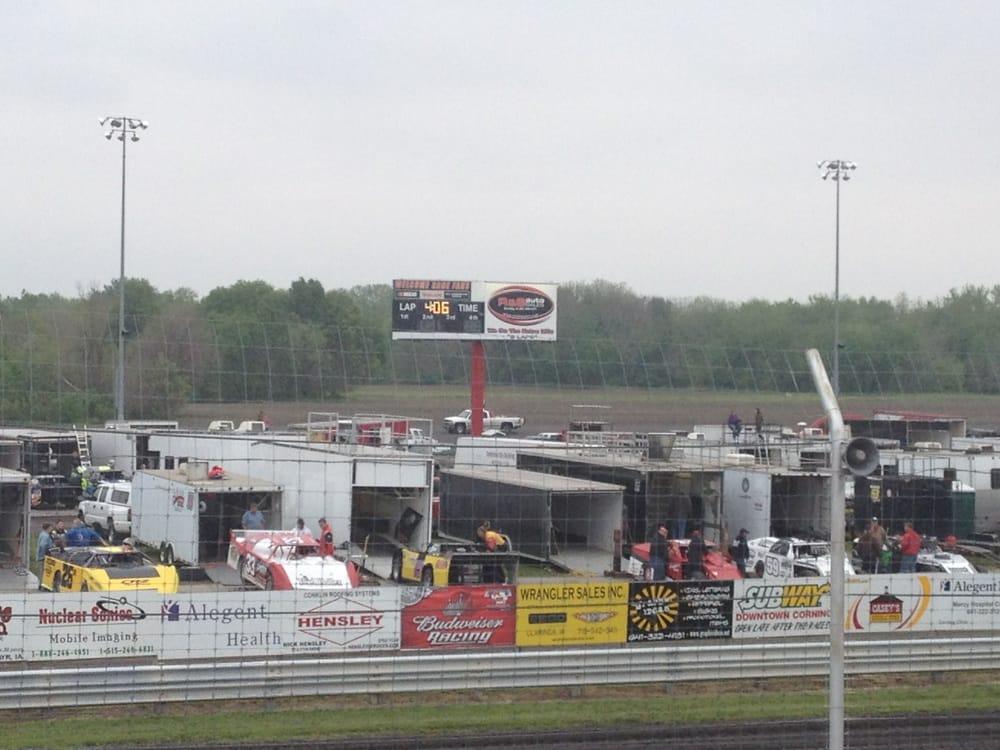 Adams County Speedway: 1200 John St, Corning, IA