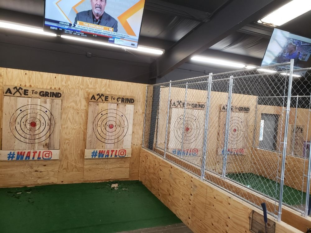 Axe to Grind Axe Throwing & Social House: 925 Enoch Ln, Manhattan, KS