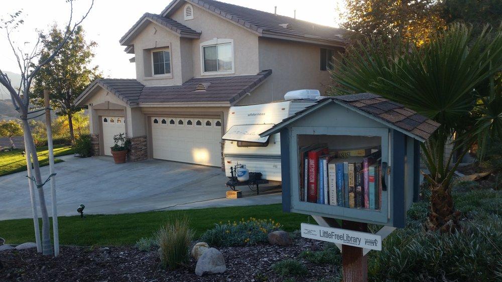 Little Free Library: 29681 Mammoth Ln, Santa Clarita, CA