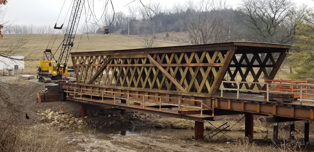 Cedar Covered Bridge: Winterset, IA