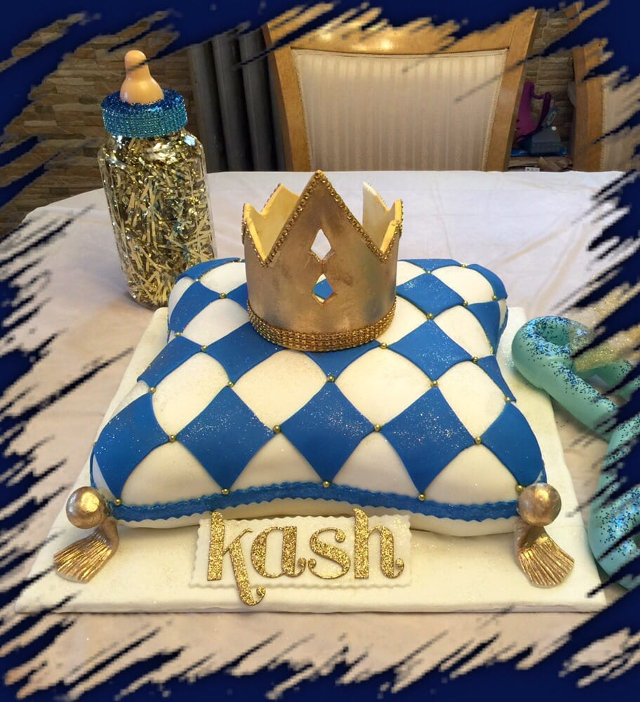 Pillow Crown Baby Shower Cake Yelp