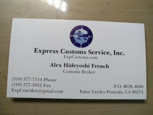 Photo Of Express Customs Service Rancho Palos Verdes Ca United States