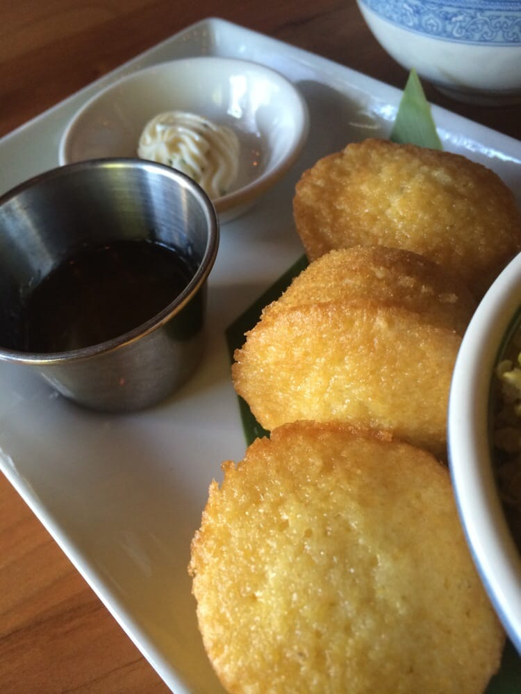 Corn bread with miso butter - Yelp