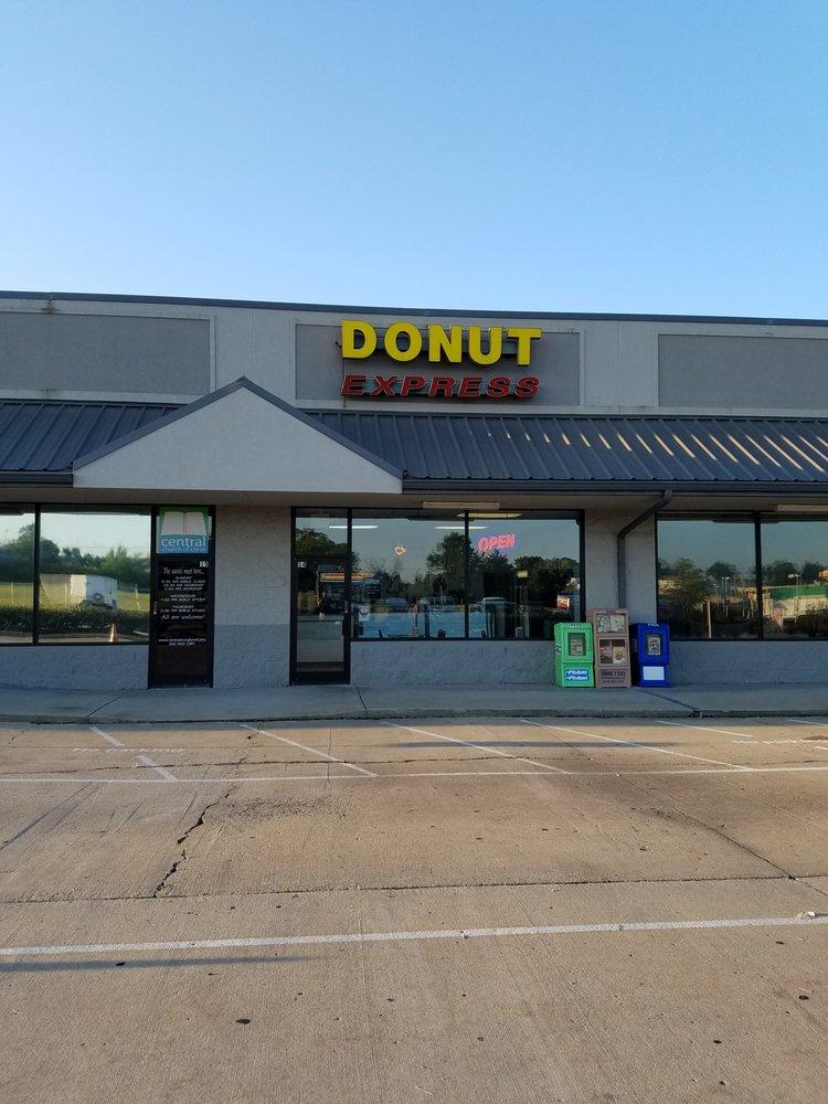 Donut Express: 100 Mary Lynn Dr, Georgetown, KY