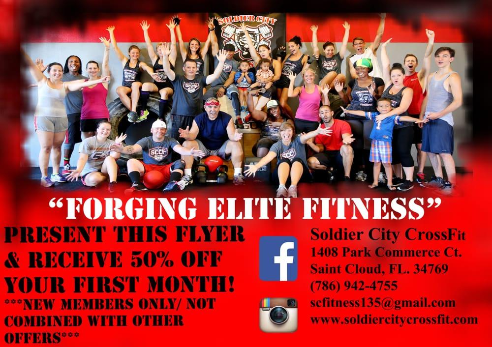 Soldier City CrossFit: 1408 Park Commerce Ct, Saint Cloud, FL