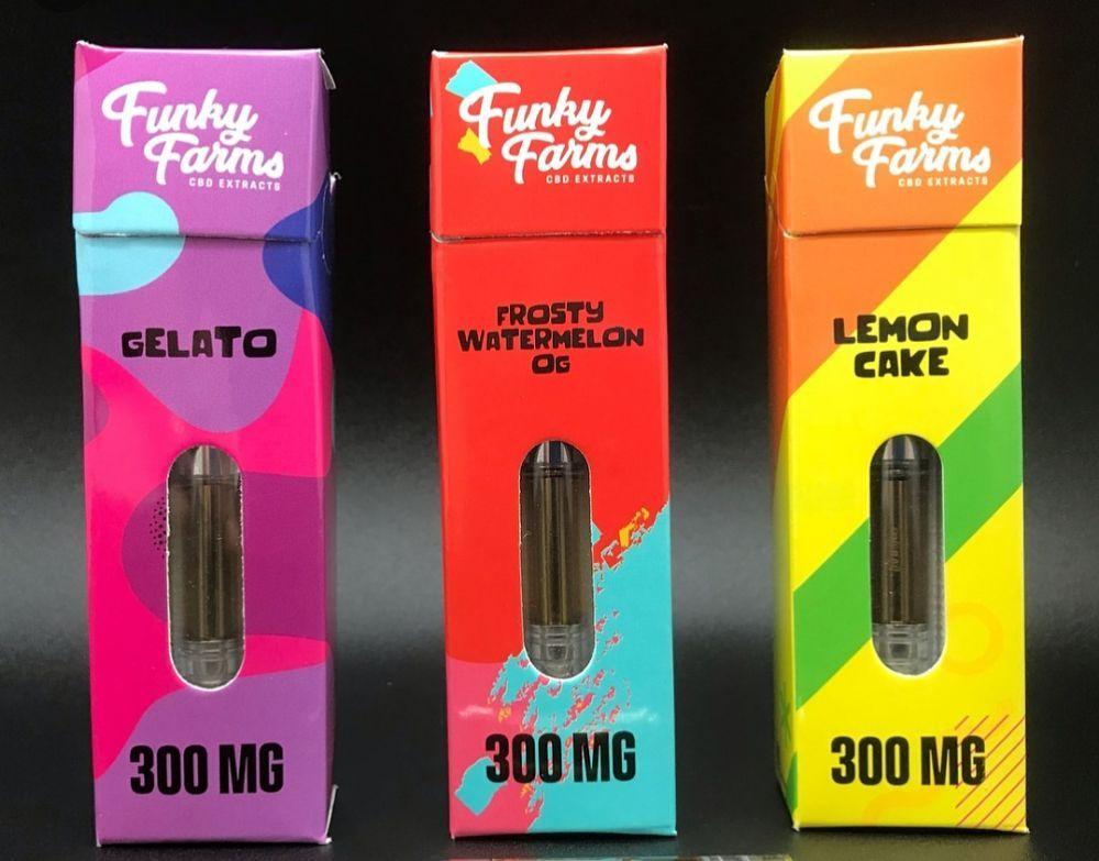 Funky Farms Prefilled CBD cartridges - Yelp