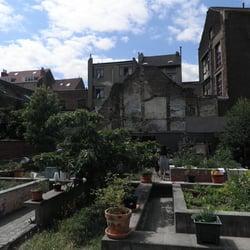 Le Jardin Urbain Botanical Gardens Rue Fin 34 38 Molenbeek