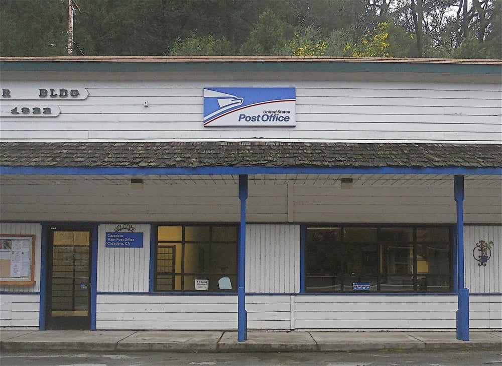 US Post Office: 6145 Cazadero Hwy, Cazadero, CA