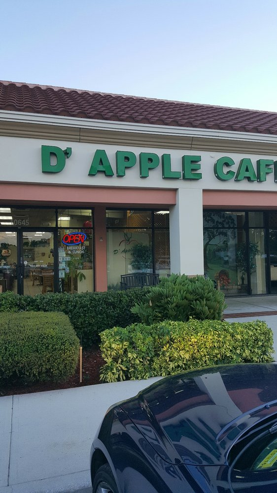 D Apple Cafe Coral Springs Fl