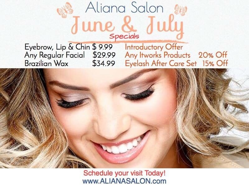 Aliana Salon  Reviews Threading Services 2700 E Eldorado Pkwy Little Elm Tx Phone Number Last Updated December 17 2018 Yelp