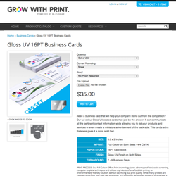 Grow with print printing services 11100 bridgeport road photo of grow with print richmond bc canada reheart Gallery