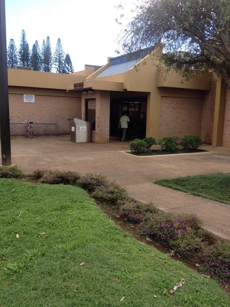 Lanai Public and School Library: 555 Fraser Ave, Lanai City, HI