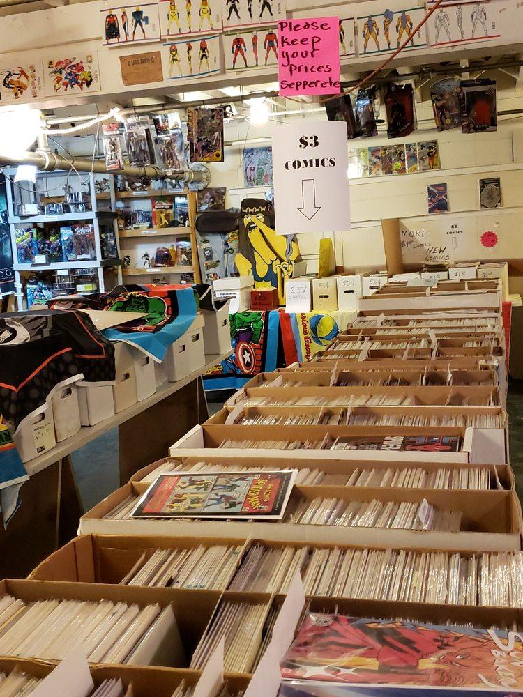 Fallout Comics: 700 NE 22nd Ave, Portland, OR