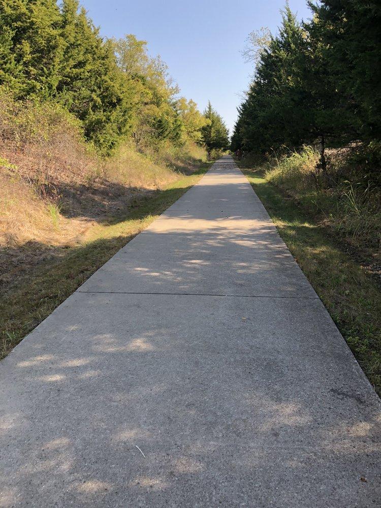 Chaparral Rail Trail: 154 S Main St, Farmersville, TX