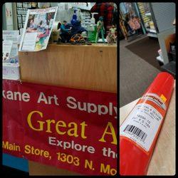 "Photo of Spokane Art Supply - Spokane, WA, United States. Upcoming ""Great"