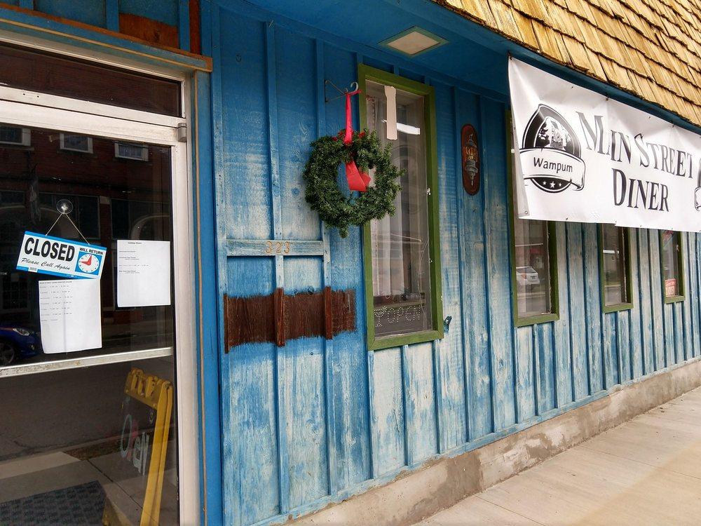 Main Street Diner: 323 Main St, Wampum, PA