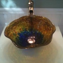 Bagley/sowerby/davidson Straightforward Art Glass Bowls X 2