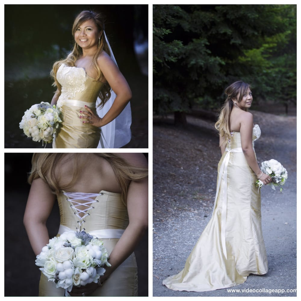 Custom made silk bridal dress from milutsa el cerrito for Custom wedding dress bay area