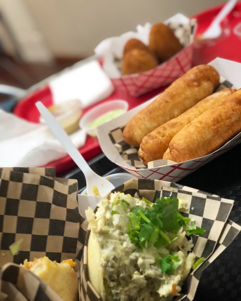 Caribbean Snaps - Fast food: 873 Valley Mall Pkwy E, East Wenatchee, WA