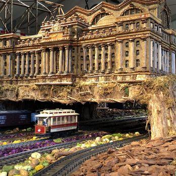New York Botanical Garden Holiday Train Show Check Availability