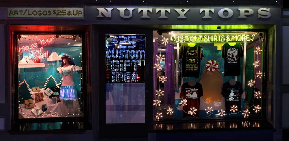 Nutty Tops Custom T Shirt Shop
