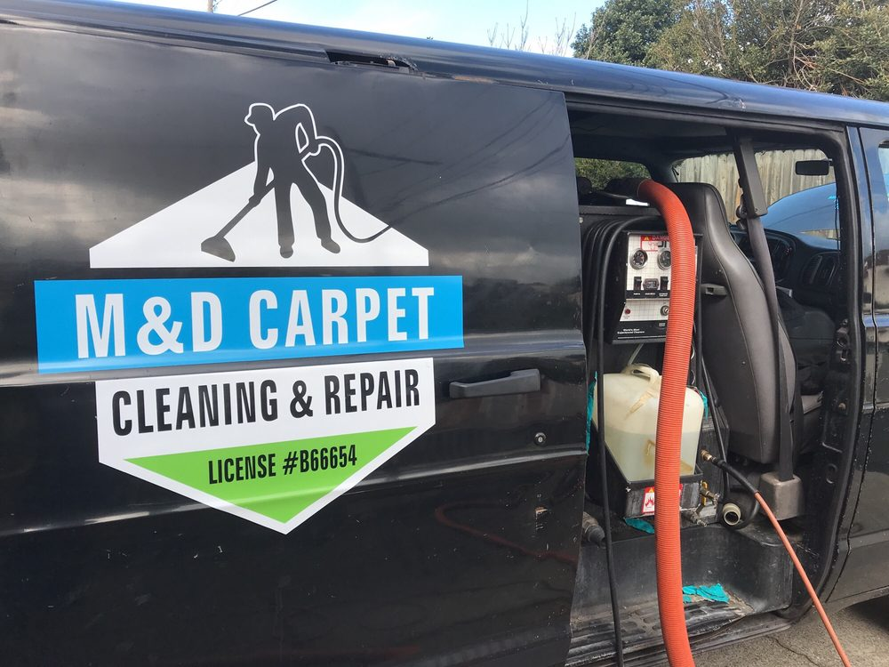 Photo of M&D Carpet Cleaning and Repairs - Millbrae, CA, United States. Truck
