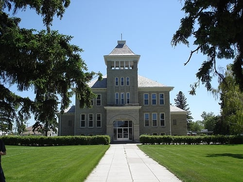 Teton County Courthouse and County Administration Building: Courthouse, Choteau, MT