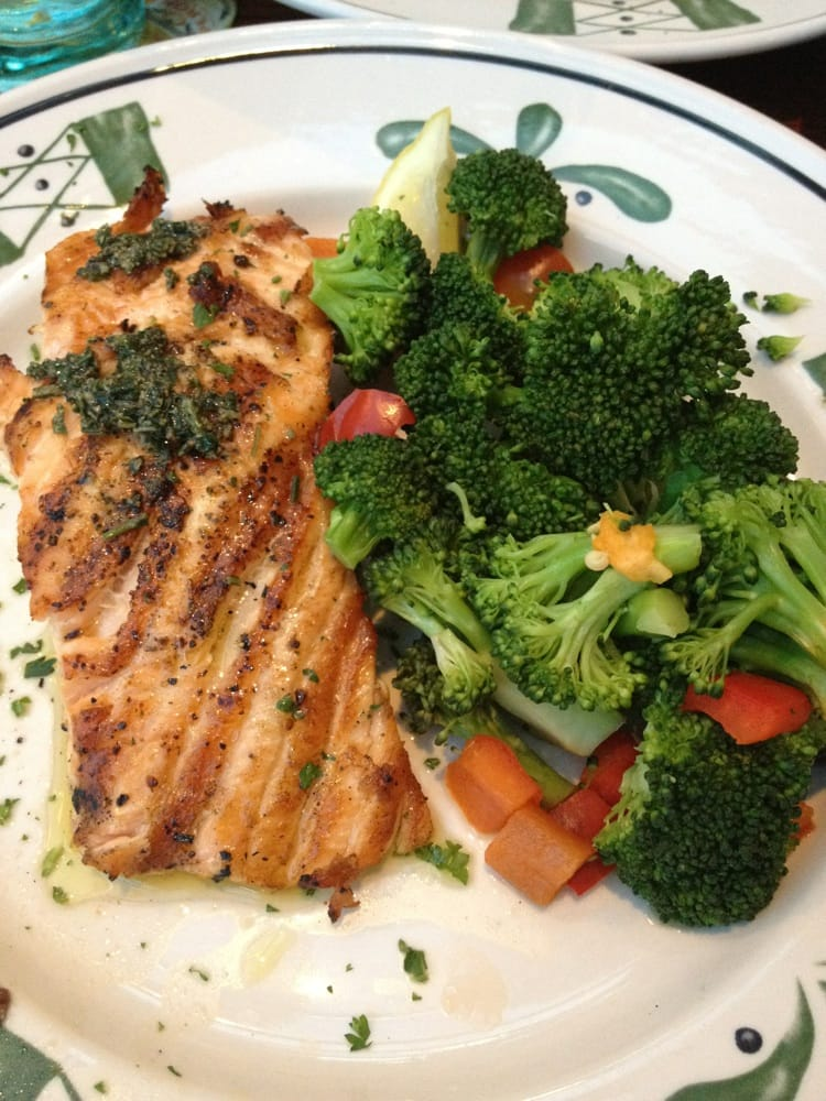 Herb grilled salmon from gluten free menu yelp - Gluten free menu at olive garden ...