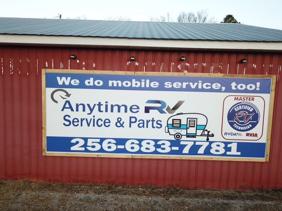 Anytime RV Service and Parts: 3574 Hwy 31 SE, Hartselle, AL