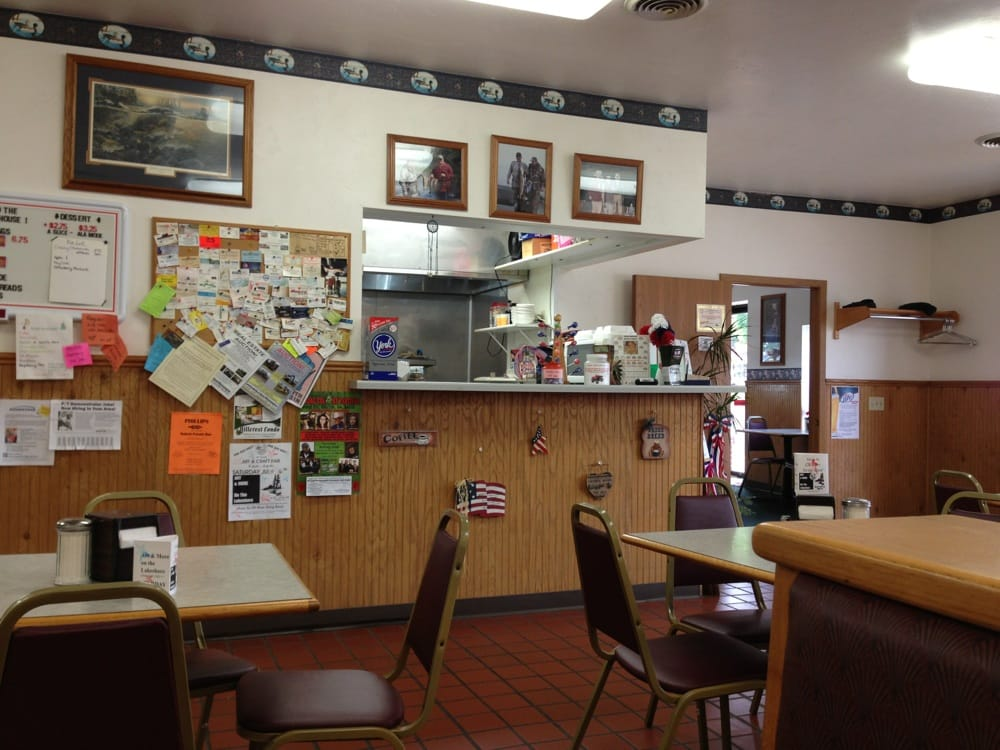 Freight House Restaurant: 285 N Lake Ave, Phillips, WI