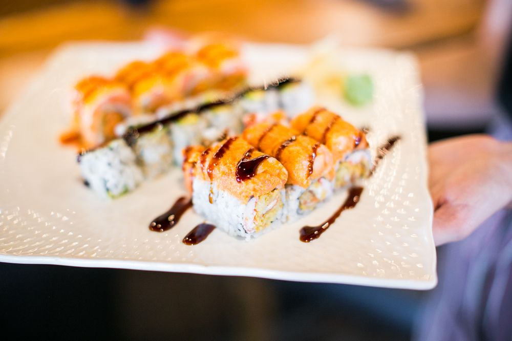 Miso Asian Grill & Sushi Bar: 1305 Jefferson Davis Hwy, Fredericksburg, VA