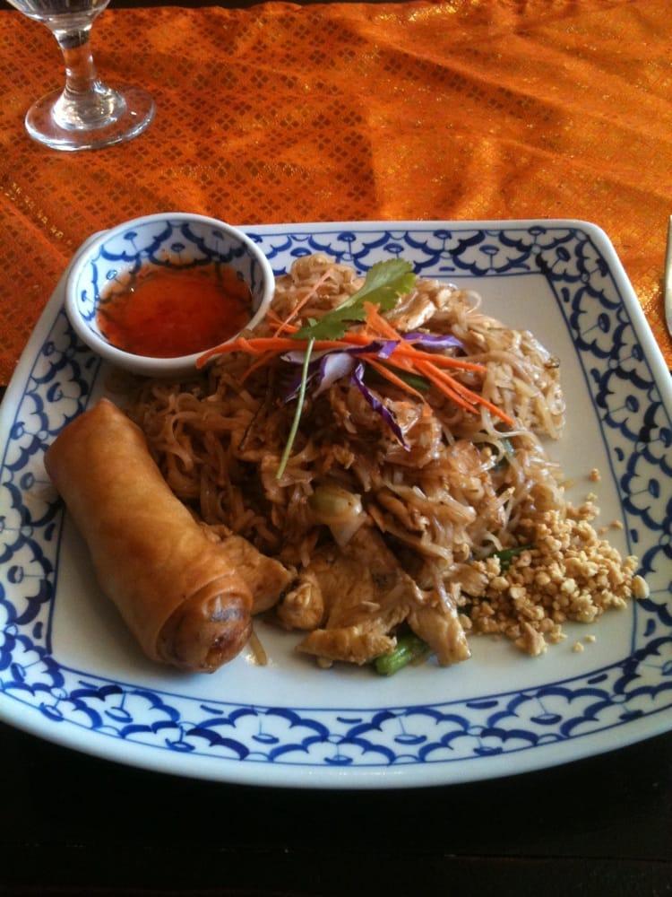 Sai thai cuisine 13 reviews thai 1319 redwolf blvd for Ar roi thai cuisine