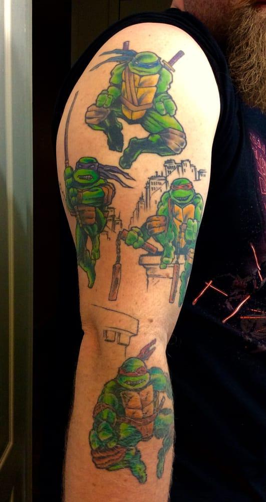 e1a2796b5 Photo of Arthouse Tattoo - Austin, TX, United States. TMNT Teenage Mutant  Ninja