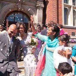 Photo Of Haringey Registry Office Wedding Photography London United Kingdom