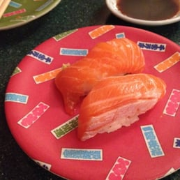 East Japanese Restaurant - West Nyack, NY, United States. Salmon sushi