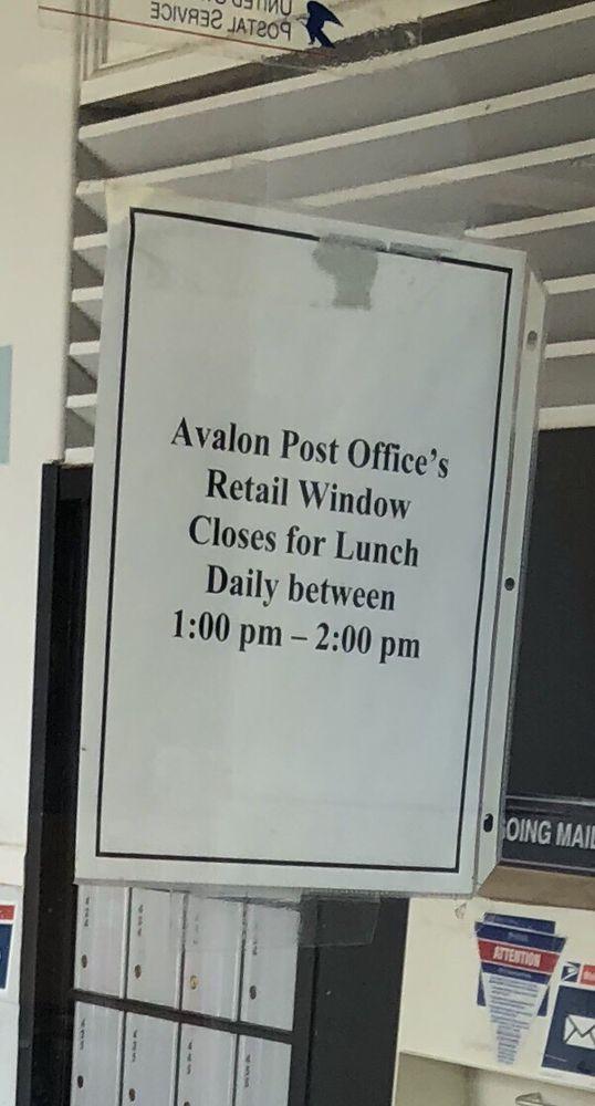 US Post Office: 3219 Dune Dr, Avalon, NJ