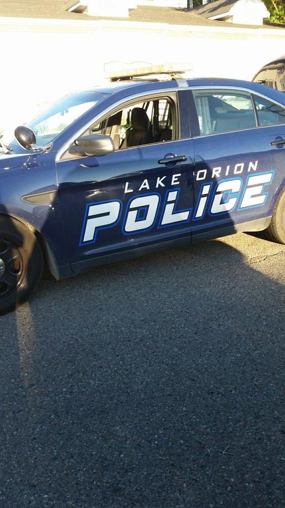 Lake Orion Police Department: 21 E Church St, Lake Orion, MI