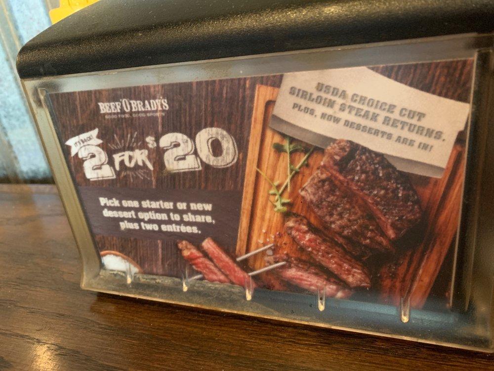 Beef 'O' Brady's: 5510 4th St, Lubbock, TX