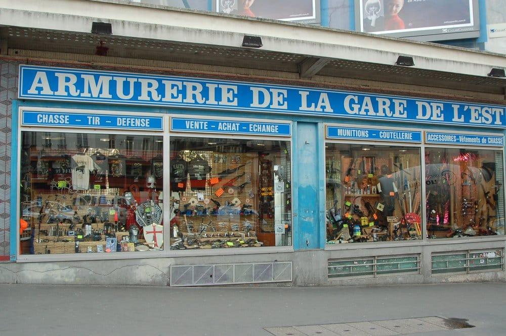 Armurerie gare de l est magasin de loisirs 144 rue - Magasin loisirs creatifs paris ...