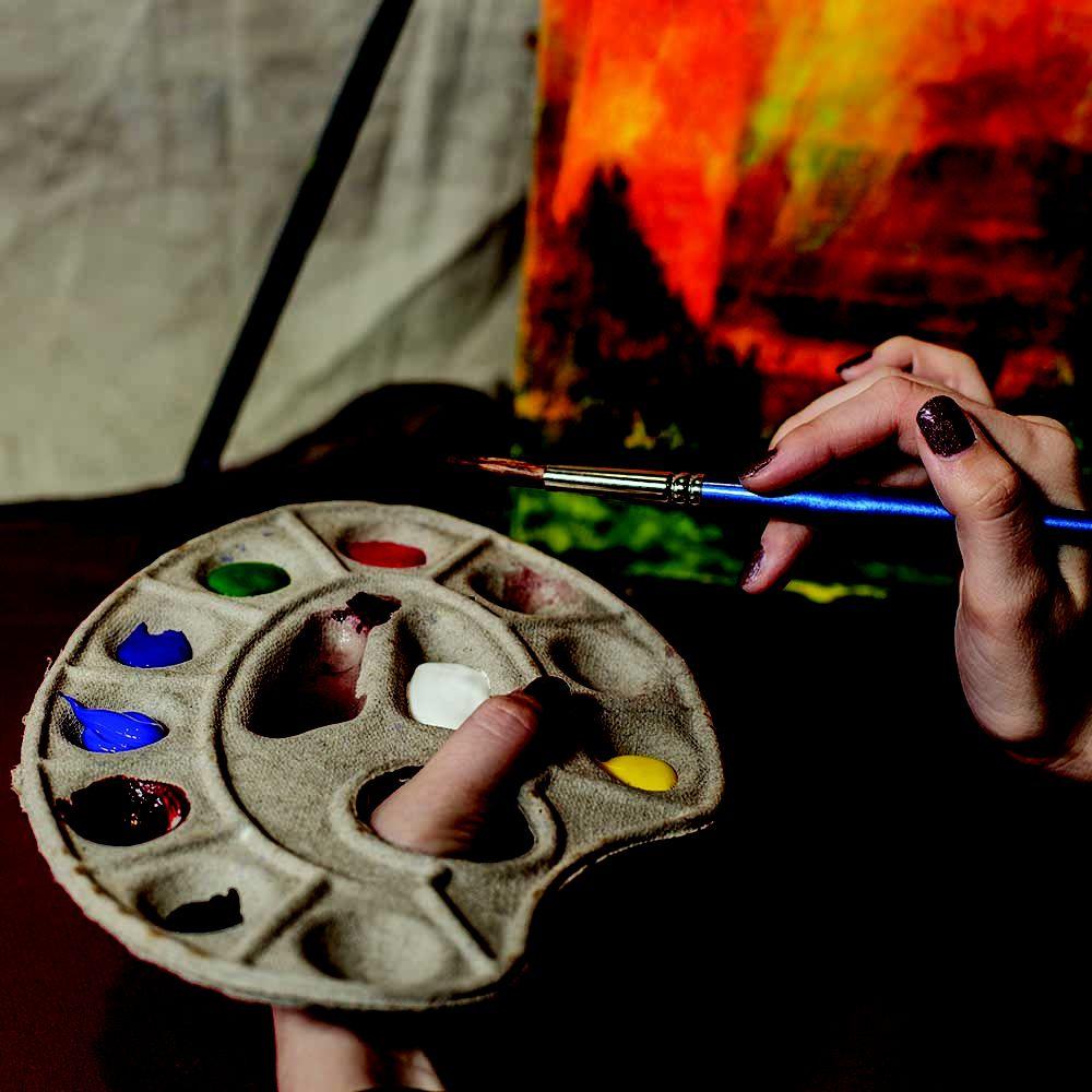Paint Plates: 120 S Chatfield Ave, Goldendale, WA