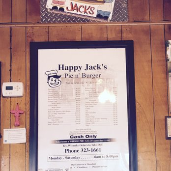 Photo Of Happy Jacks Hamburger Pie Shop Bakersfield Ca United States