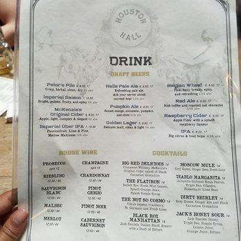 Bagatelle Nyc Drink Menu