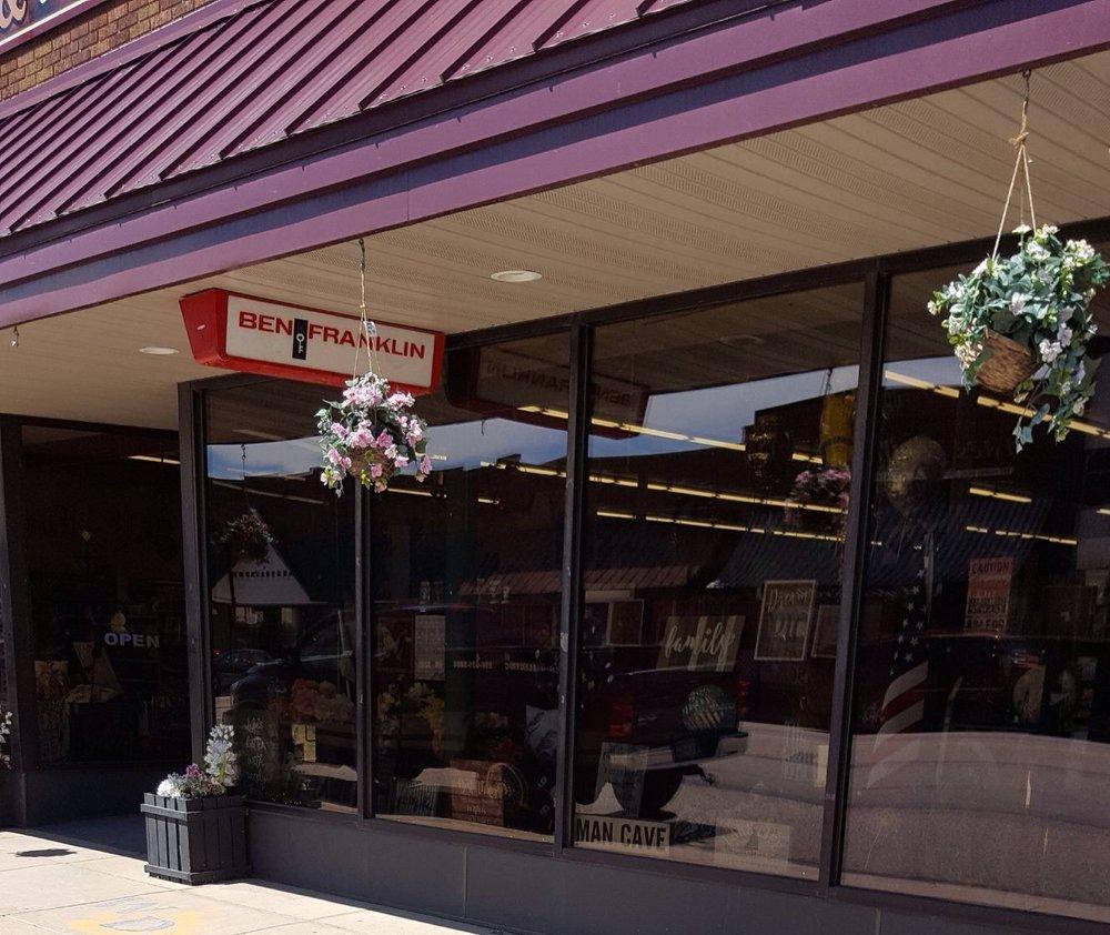 Ben Franklin Store: 111 Jefferson St S, Wadena, MN