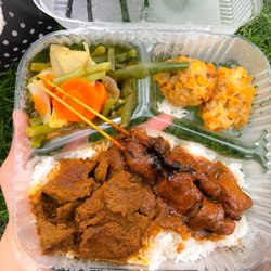 Photo Of Sate Truck Washington Dc United States Beef Rendang Spicy